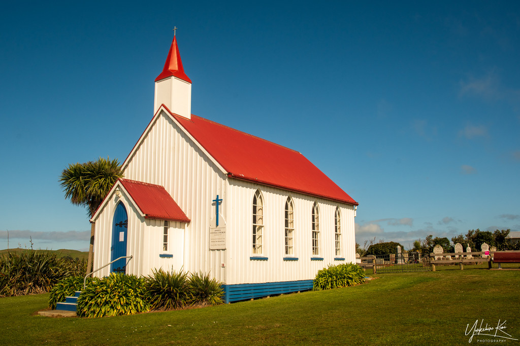 Awhitu Church by yorkshirekiwi