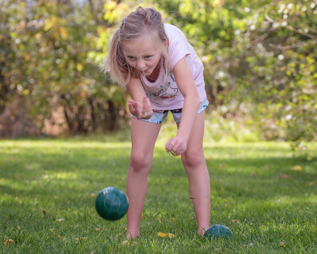 bocce ball by aecasey