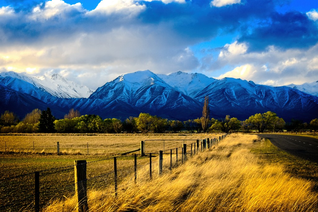 Springtime in the mountains by kiwinanna