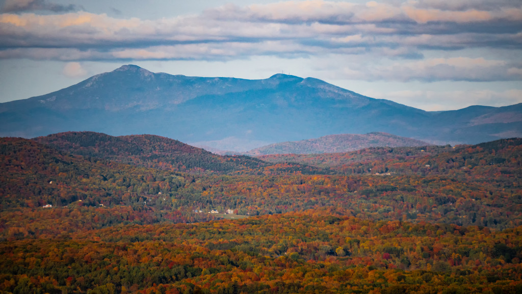 Mount Mansfield, from Mount Philo by bmaddock