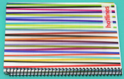 27th Sep 2020 - Striped Spiral Notebook