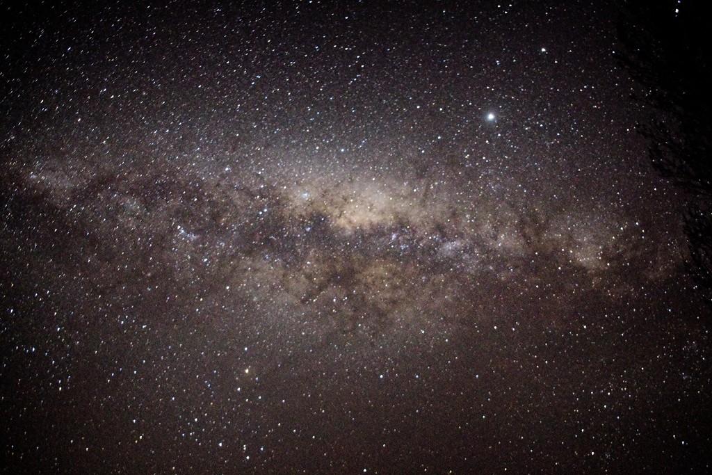 Milky Way core by kiwinanna