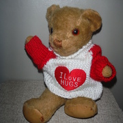 29th Sep 2020 - Sweater for Teddy for World Heart Day