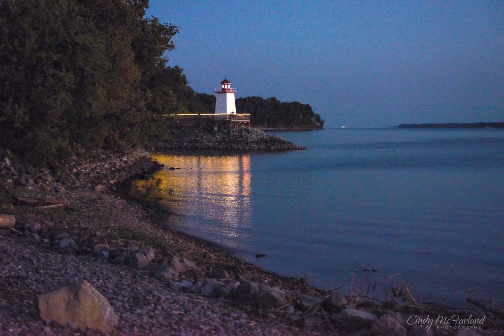 Lighthouse Landing by cindymc