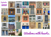 1st Oct 2020 - A month of windows with hearts.