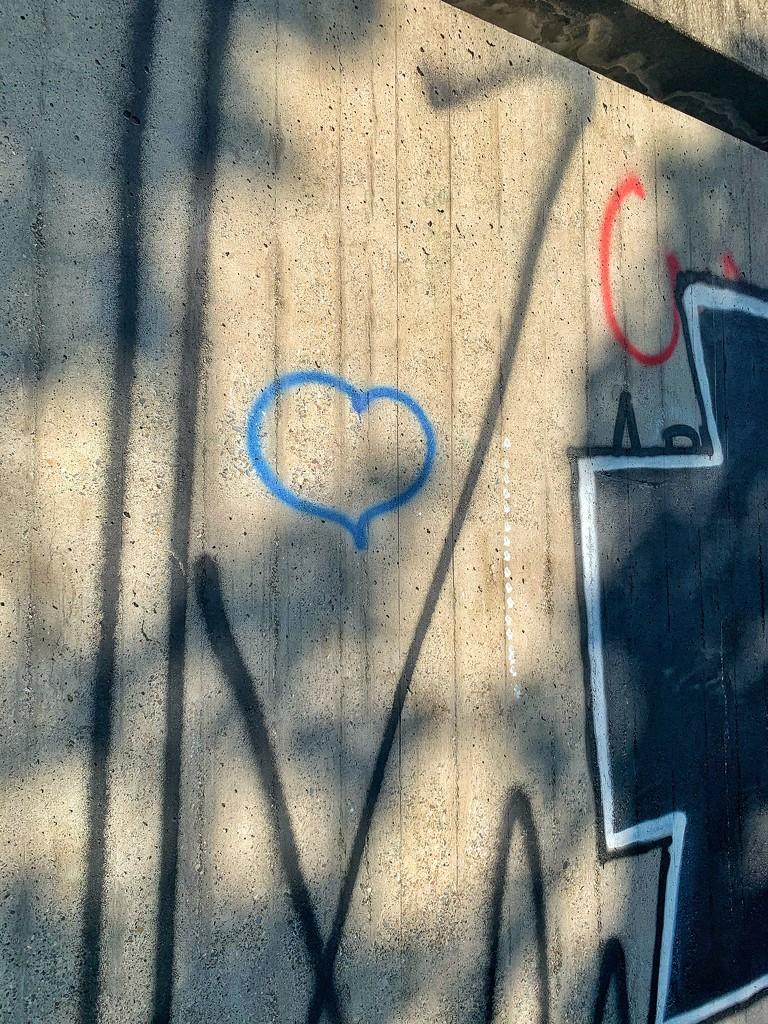 Blue heart.  by cocobella