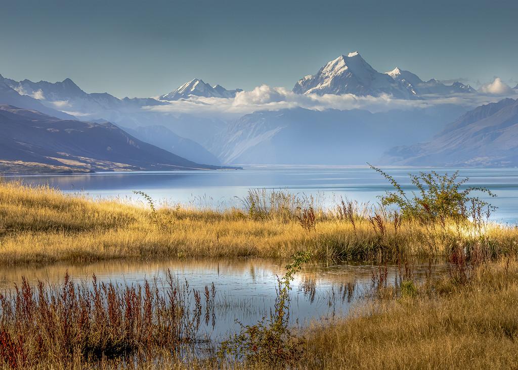 Mount Cook  by shepherdmanswife