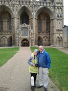 1st Oct 2020 - Outside Peterborough Cathedral