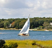 1st Oct 2020 - Breezy day sail.