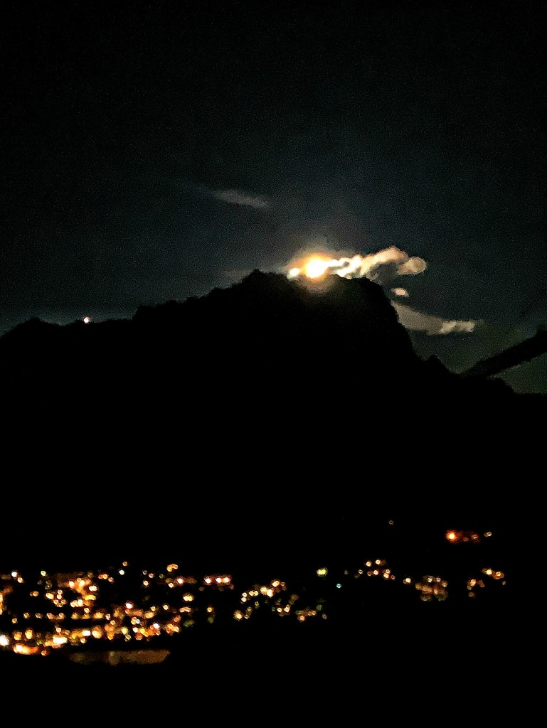 """""""Eruption"""" of the moon by caterina"""
