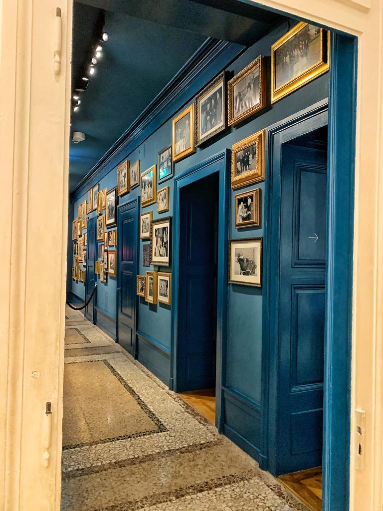 Blue hall.  by cocobella