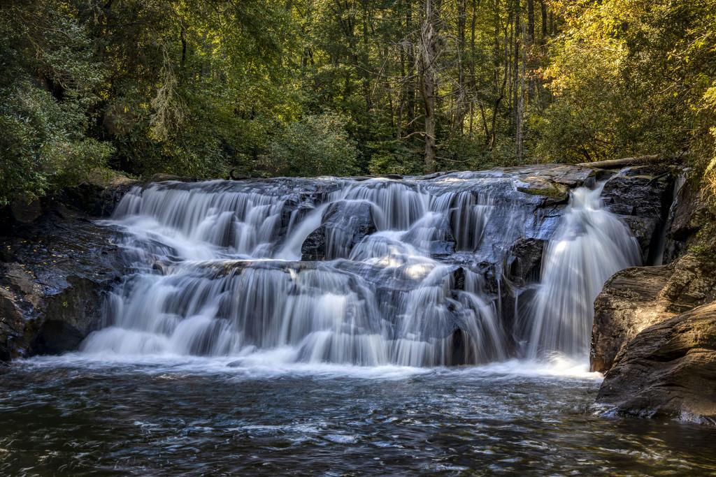 Falls on Waters Creek by kvphoto