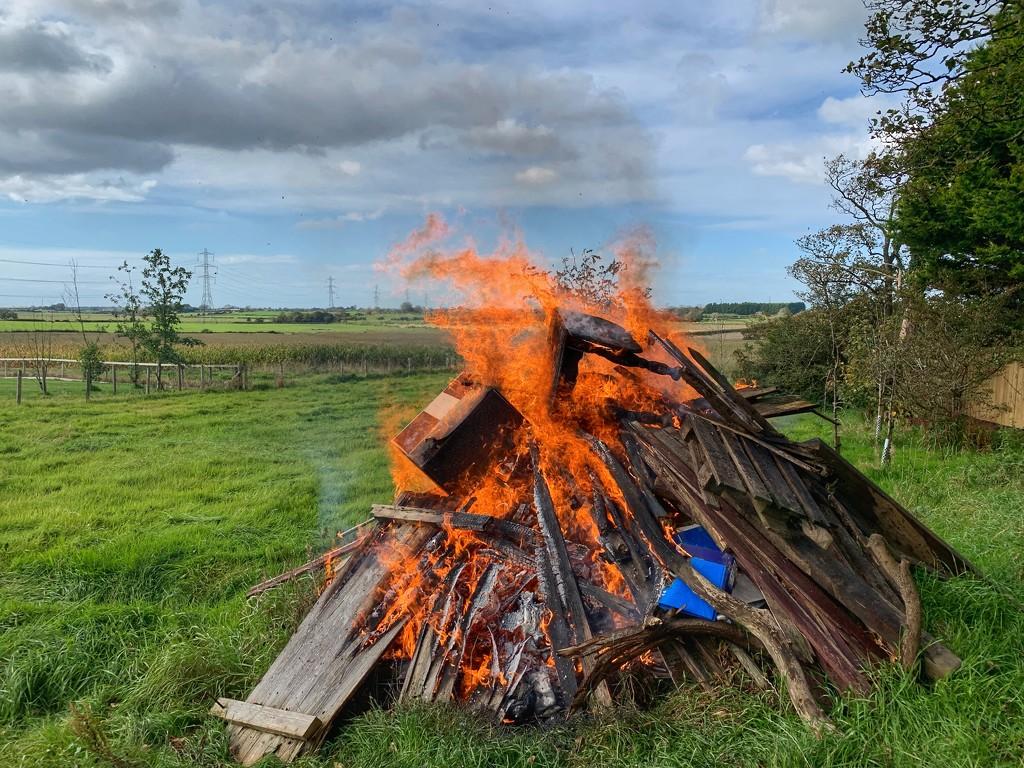 Bonfire night early!  by happypat