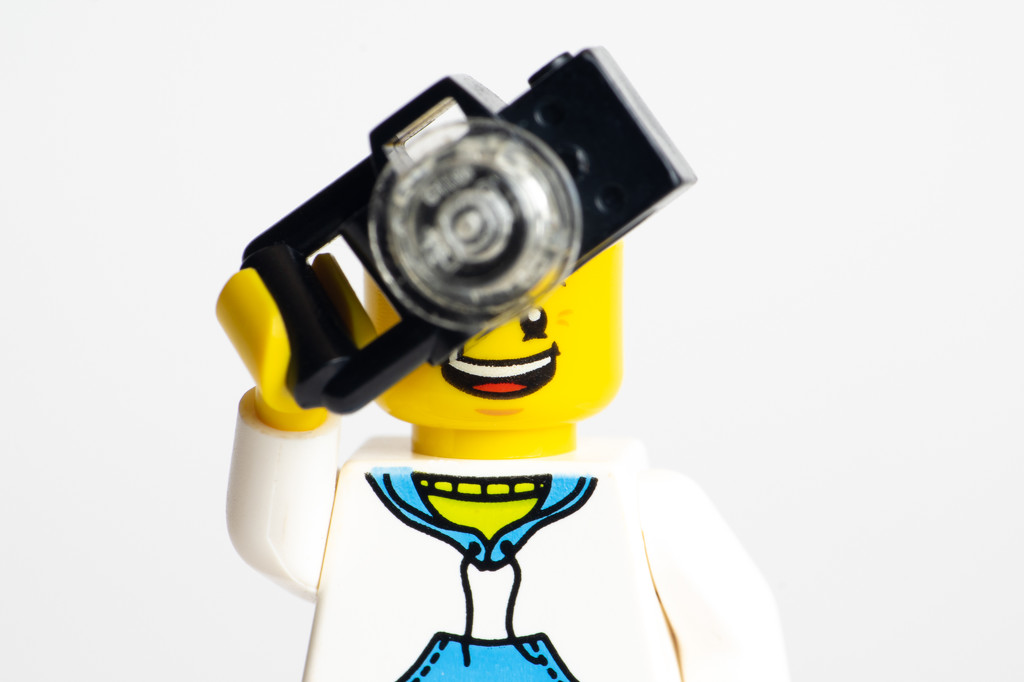 (Day 232) - Smile of a Legographer by cjphoto