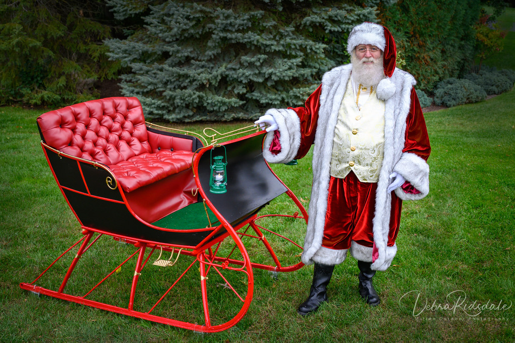 Covid will change Santa's visits  by dridsdale