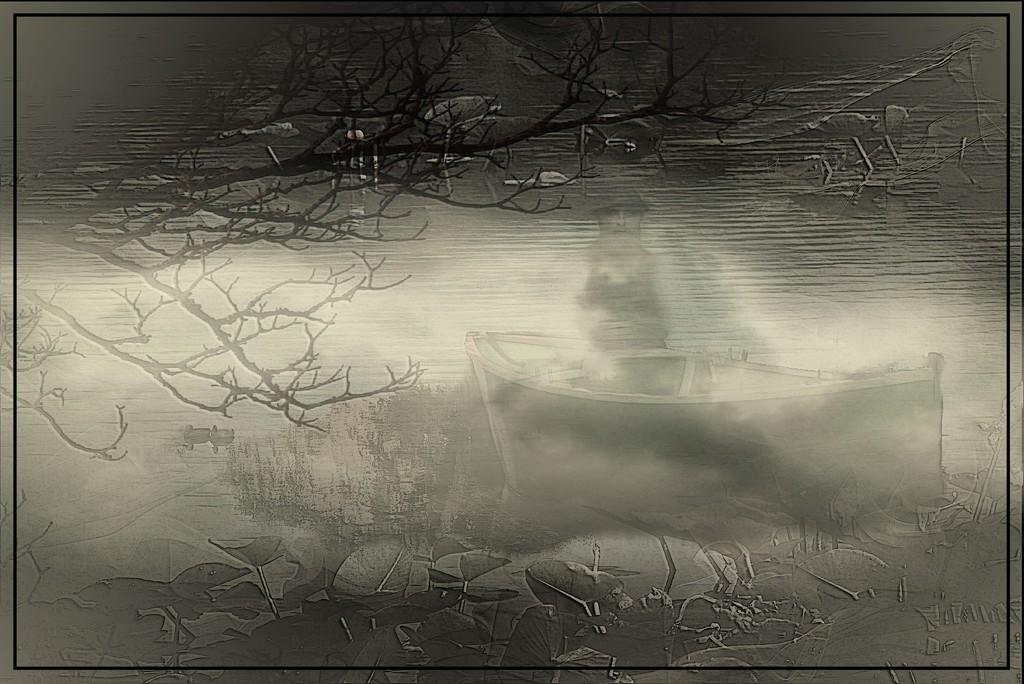 Minsi Lake Edit 2 by olivetreeann