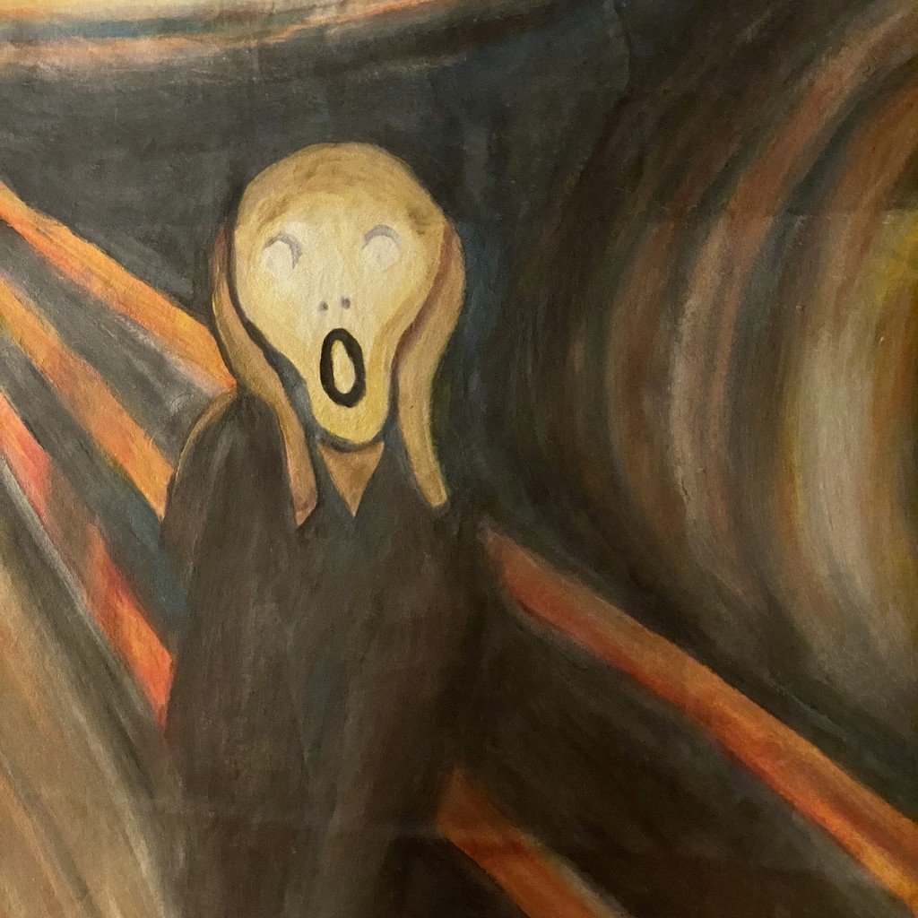 O, no! A real fake Munch! 😱 by stimuloog