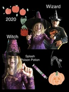 4th Oct 2020 - Snaggle toothed Witch