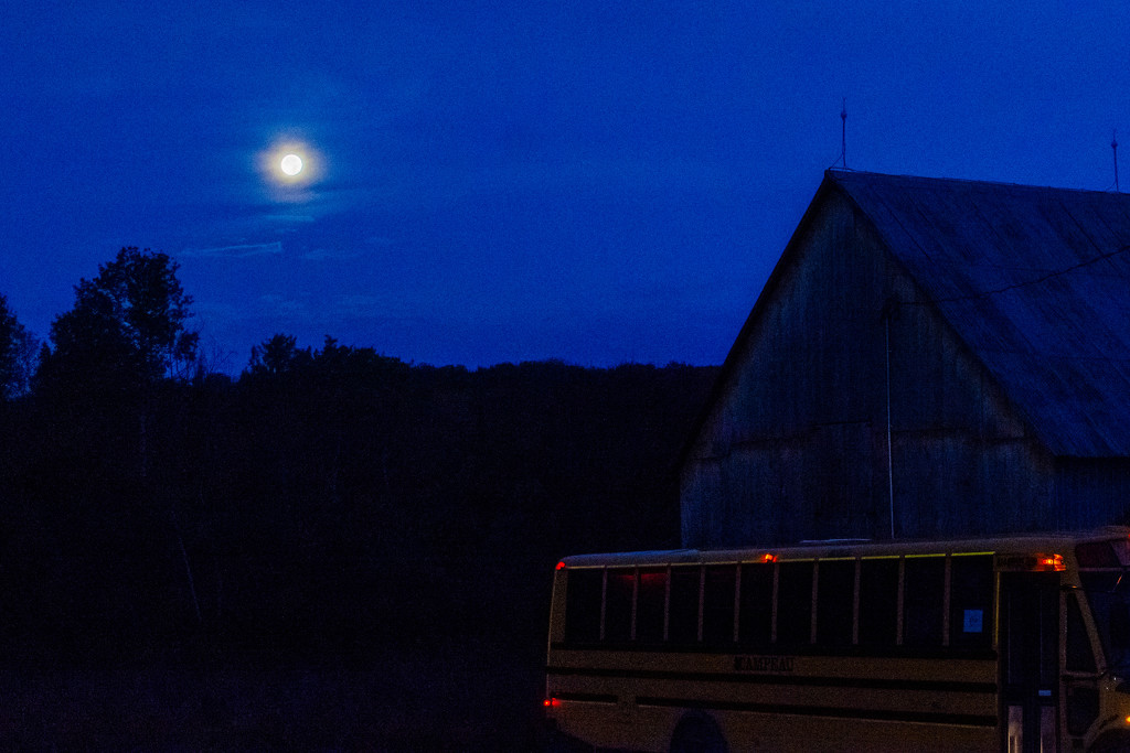 October Words - Moon by farmreporter
