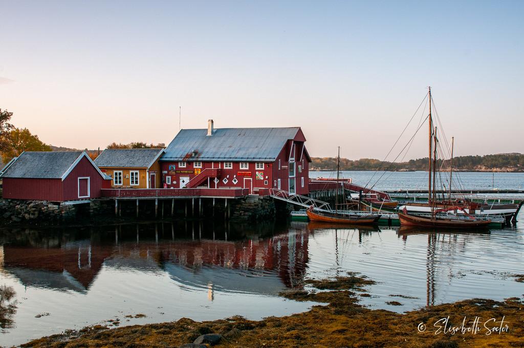 Hopsjø Trading place by elisasaeter