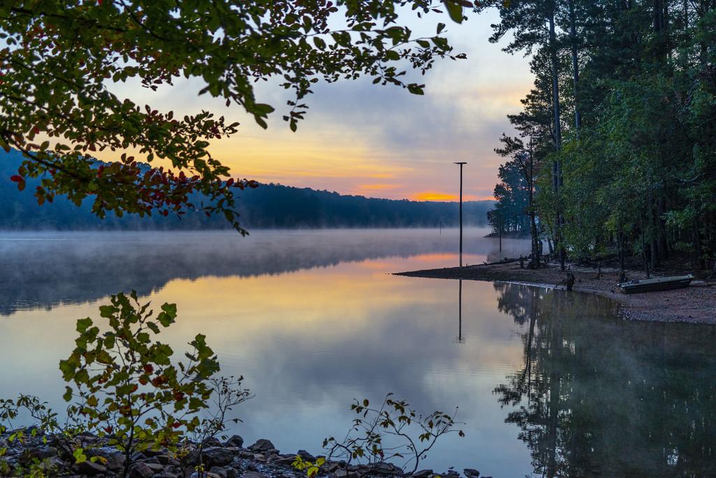 Autumn Sunrise by k9photo