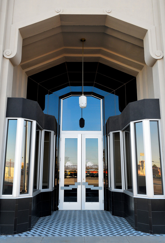 Art Deco Archway and Door by theredcamera