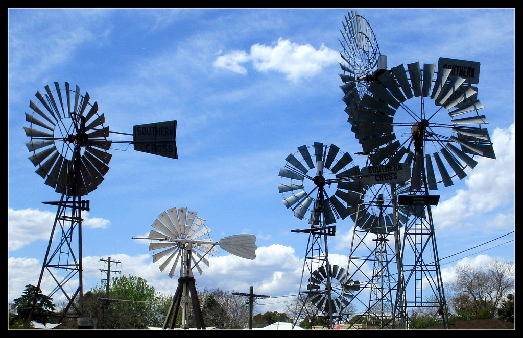 Windmills at Toowoomba by 777margo