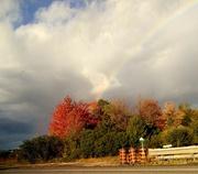 8th Oct 2020 - Rainbow taken through the car window