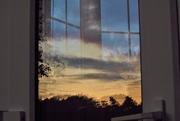 9th Oct 2020 - Conservatory door reflection.........