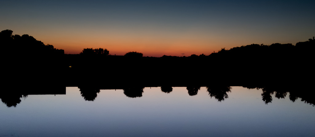 Reflected Sunset by mallocarray
