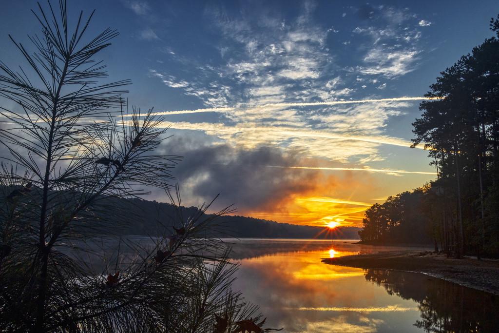 Piney Sunrise by kvphoto
