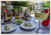 9th Oct 2020 - Meze And A Glass Of Wine