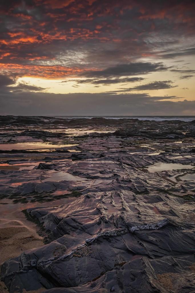 Constantine Beach at sunset  by shepherdmanswife