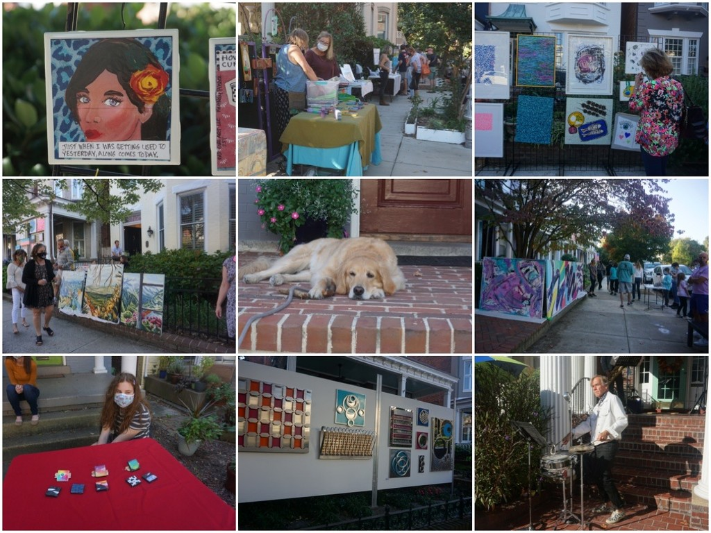 Yesterday at the Arts Stroll by allie912