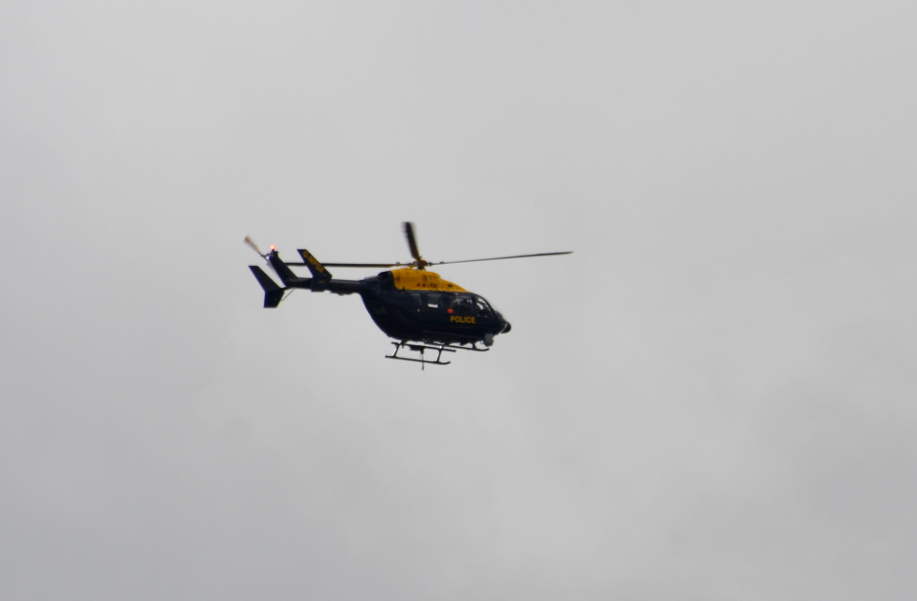 Police Helicopter by arkensiel