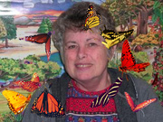 10th Oct 2020 - Kathy and her butterflies