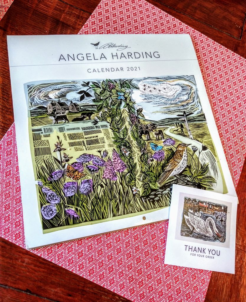Angela Harding's calendar by boxplayer