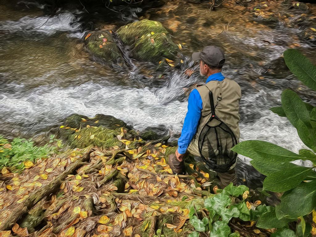 Fall Fishing by kvphoto