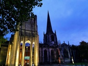 10th Oct 2020 - Sheffield cathedral at dawn