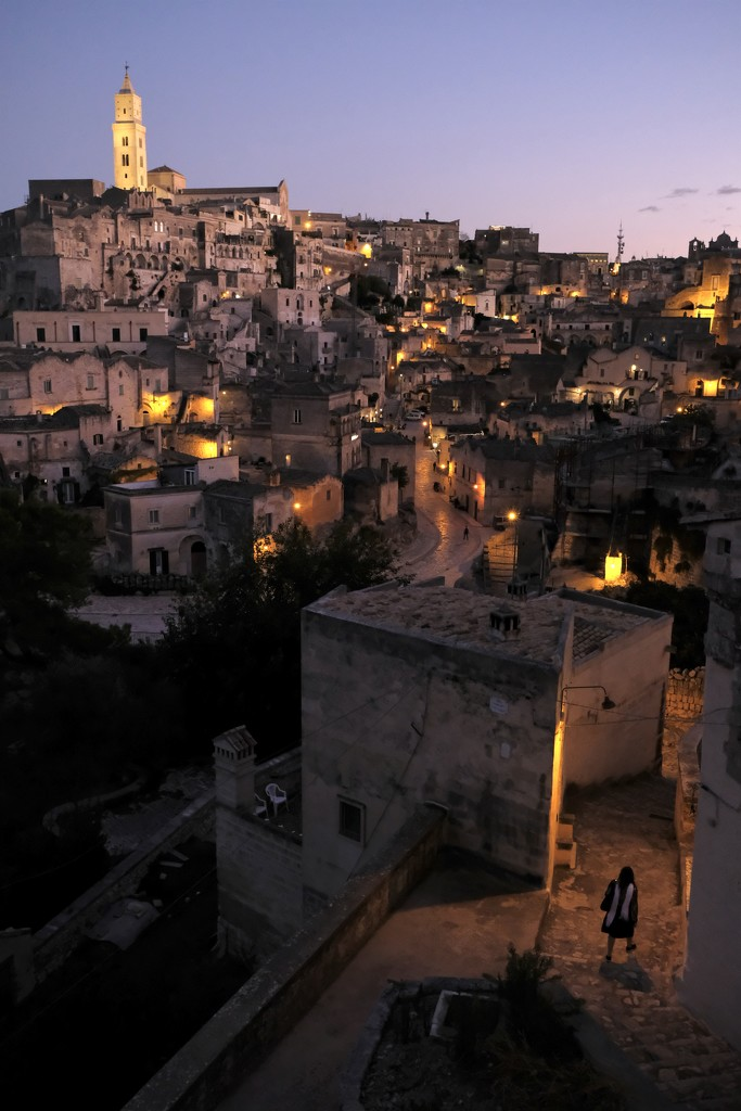 Matera - night by vincent24