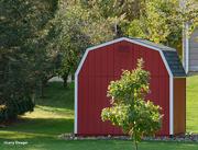 10th Oct 2020 - Miniture red barn shead