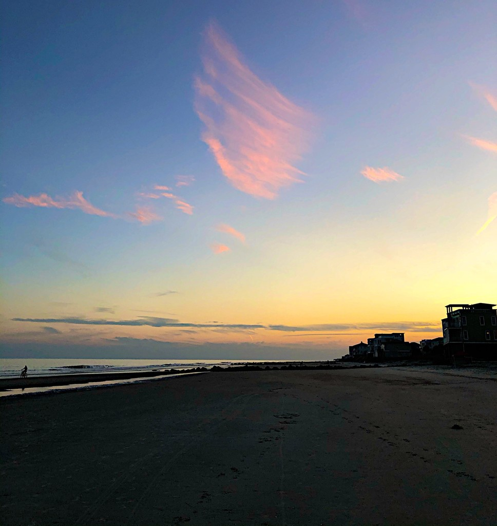 Beach sunset by congaree