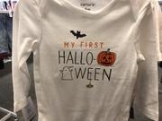 10th Oct 2020 - Halloween onesie