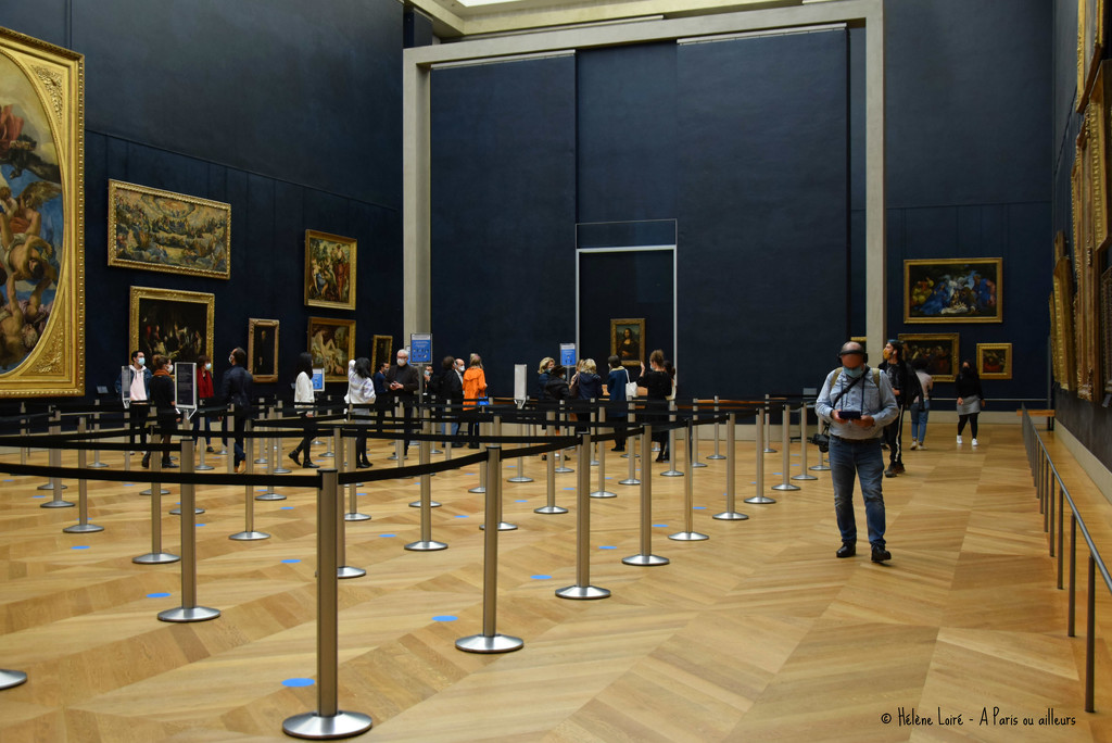 Just for fun: A little visit to Mona Lisa by parisouailleurs