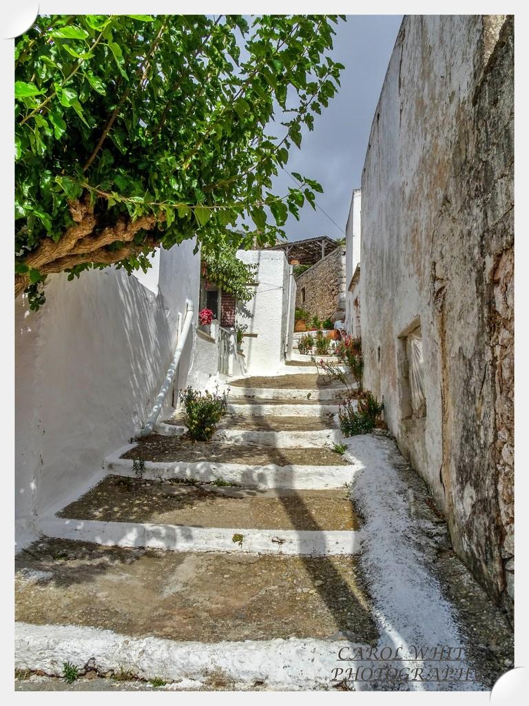 Village Steps,Sitanos by carolmw