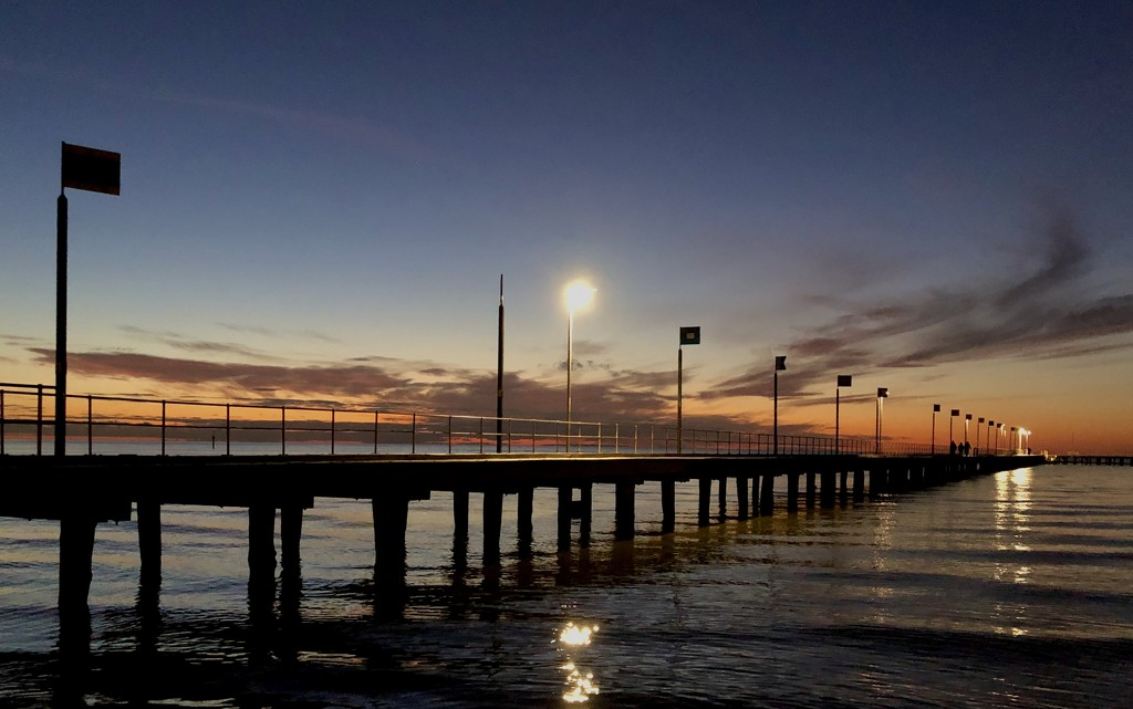 Beyond the pier by pictureme