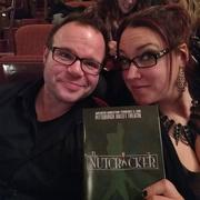 9th Dec 2016 - Us at the Nutcracker!