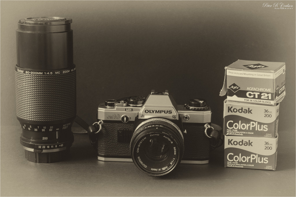 My Old Olympus OM10 by pcoulson