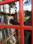 11th Oct 2020 - The girl in the telephone box