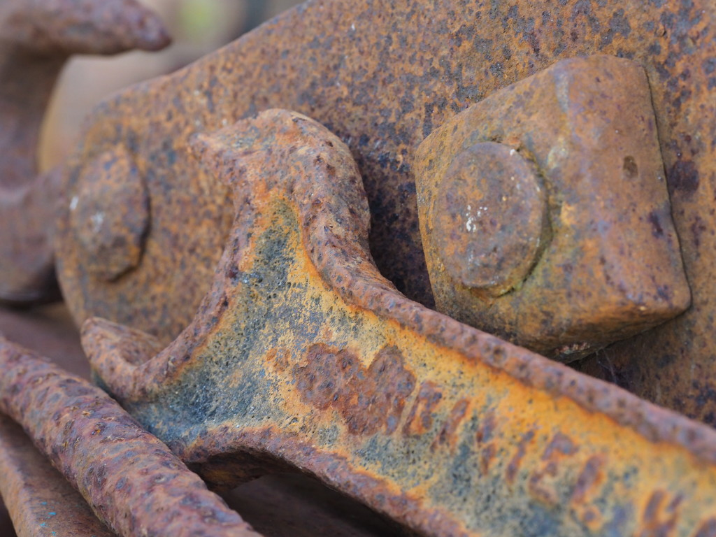 Rusty objects by katford